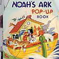 Book Noah's Ark pop up book - 1960