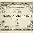 Book Modern Alphabets - 1913