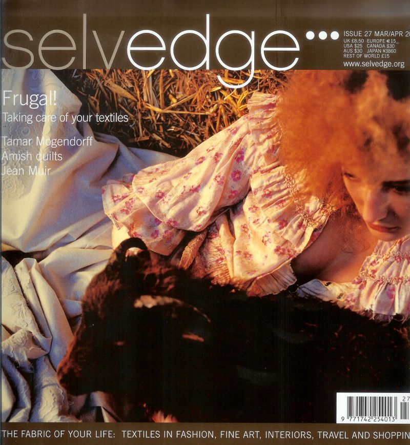 Selvedge front cover