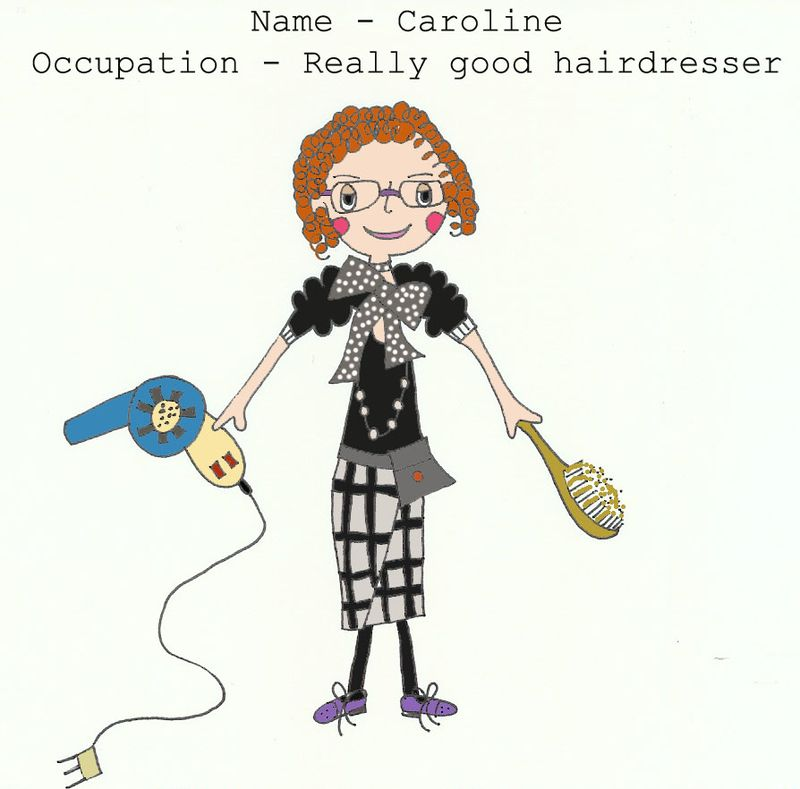 Illustration of Caroline