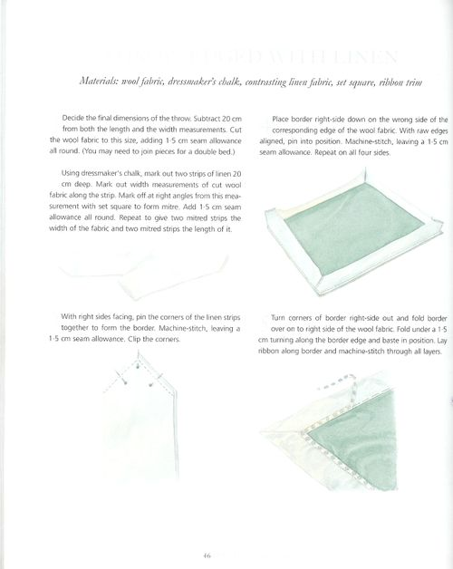 Book of soft furnishings page 46