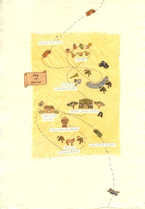 Map of Da Lat