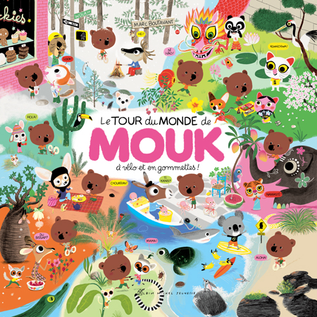 Book Around the world with Mouk a trail of adventure -  2009