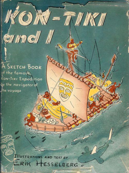 Book Kon-tiki and I - 1950