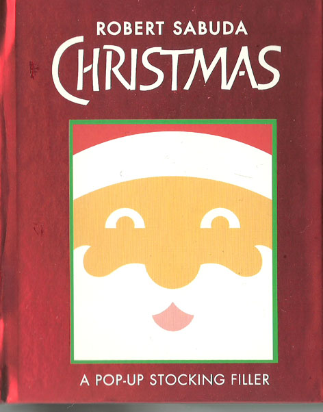 Christmas pop up book - 2006
