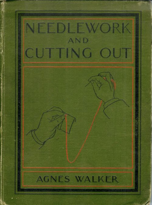 Needlework and cutting out - 1904